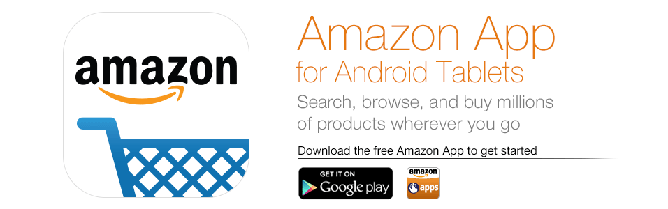 Amazon App for Android Tablets