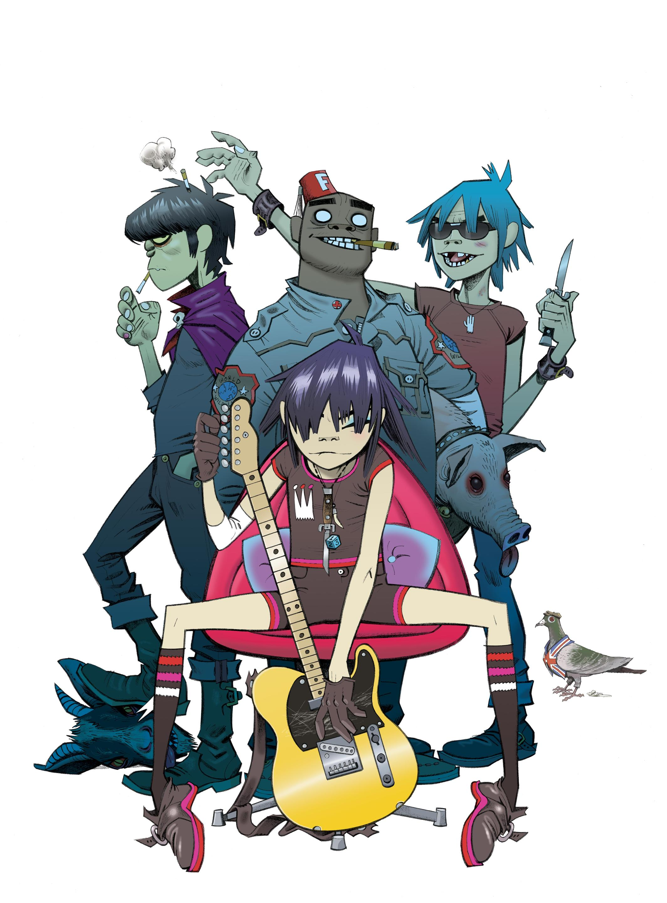 Gorillaz phase 1 celebrity take down