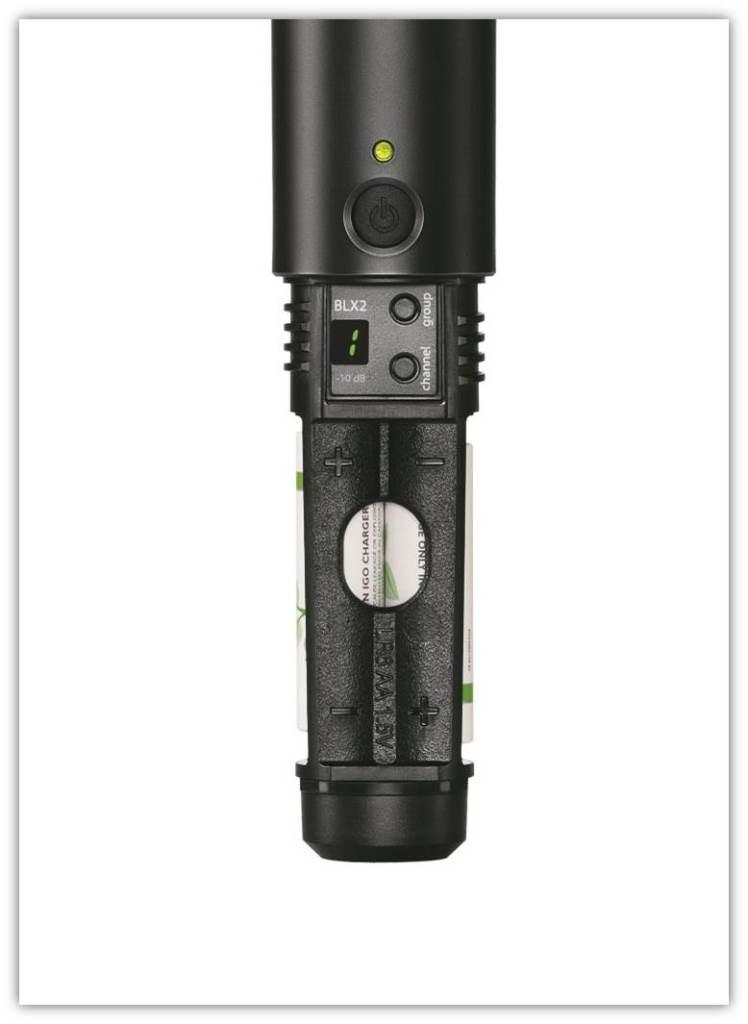 Amazon Com  Shure Blx288  Pg58 Dual Channel Handheld