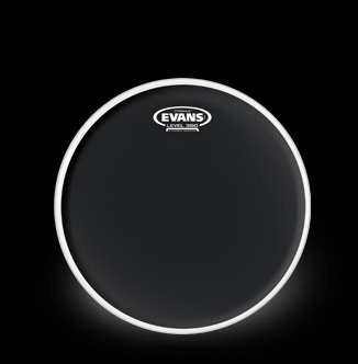 evans hydraulic black drum head 14 inch musical instruments. Black Bedroom Furniture Sets. Home Design Ideas