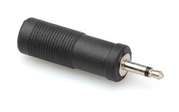 amazon com hosa gmp113 1 4 inch female to mini 1 8 ts male mono hosa gmp113 1 4 inch female to mini 1 8 ts male mono adaptor hosa cable