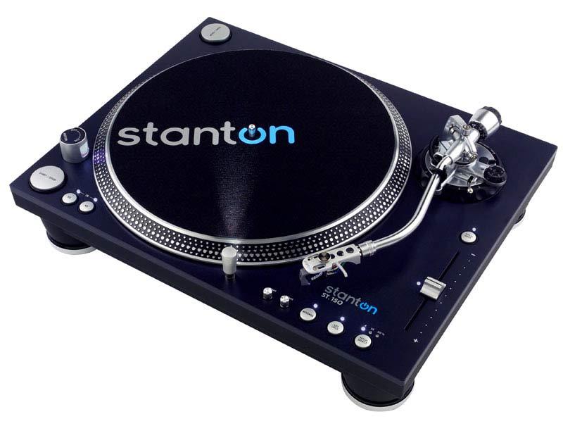Amazon.com: Stanton St-150 Turntable con cartucho (S-shaped ...