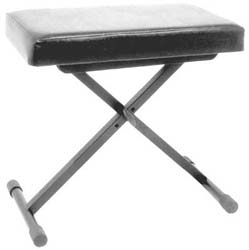 World Tour Deluxe Keyboard Bench