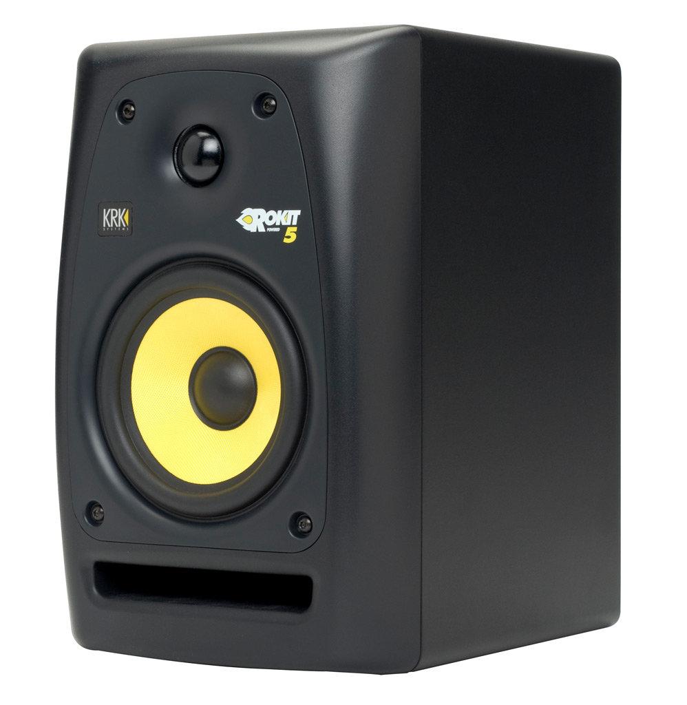 Amazon.com: KRK RP5G2 Rokit G2 5In Powered Studio Monitor (Single Speaker): Musical Instruments