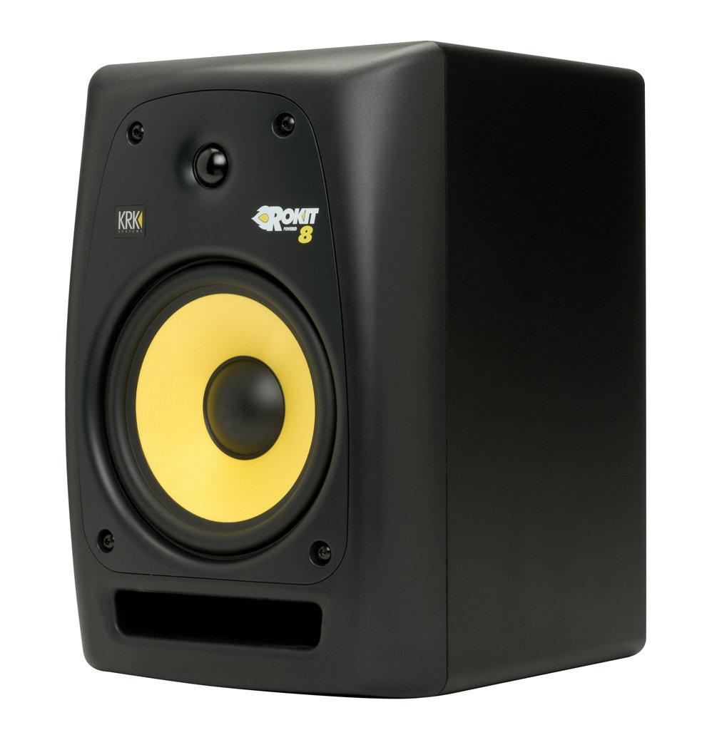 krk rp8g2 rokit g2 8in powered studio monitor single monitor musical instruments. Black Bedroom Furniture Sets. Home Design Ideas