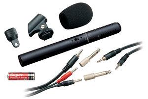Audio Technica ATR6250 Stereo Condenser Video Shotgun Mic