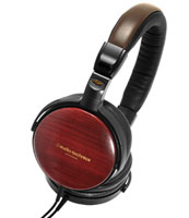 Audio Technica ATH-ESW9A Wooden Audio Headphones