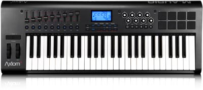 m audio axiom 49 key usb keyboard controller musical instruments. Black Bedroom Furniture Sets. Home Design Ideas