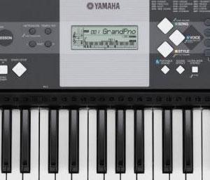 Yamaha Keyboard Digital Power Button