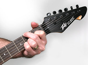 peavey at 200 autotune electric guitar red musical instruments. Black Bedroom Furniture Sets. Home Design Ideas