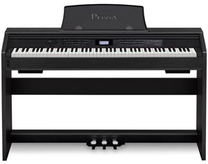 Casio PX780 Privia Digital Home Piano, Black