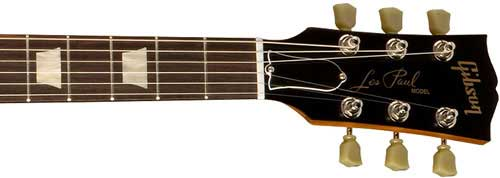 Les Paul 60's Tribute neck and headstock