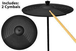 (2) Cymbals Included