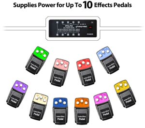 Power Up To 10 Effects Pedals
