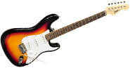 PylePro Full Size Electric Guitar Package w/Amp, Case & Accessories, Electric Guitar Bundle, Beginner Starter Package, Strap, Tuner, Pick, Ready to Use Out of the Box, Sunburst (PEGKT15SB) Pyle Guitar Chart8