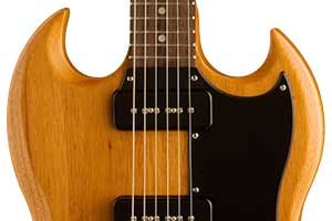 The SG Special '60s Tribute; a guitar that honors the beloved SG Specials of nearly 50 years ago