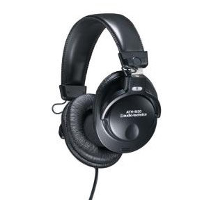 ATH-M30 Closed-back Dynamic Stereo Monitor Headphones