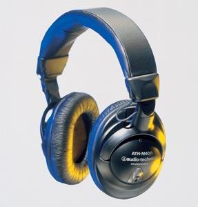 ATH-M40fs Precision Studiophones