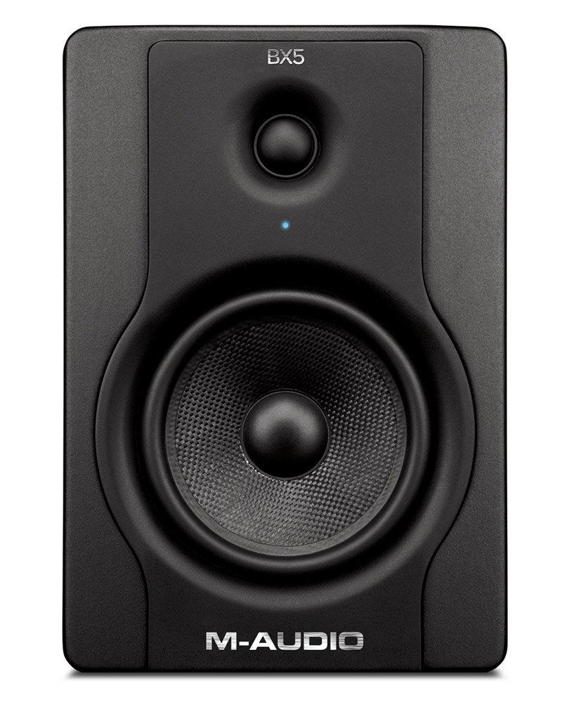 m audio bx5 d2 5 active 2 way studio monitor speakers pair computers accessories. Black Bedroom Furniture Sets. Home Design Ideas