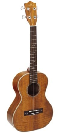 The Curly Koa Tenor Ukulele.