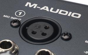 M-Audio M-Track Detail