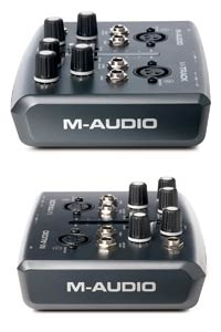 M-Audio M-Track Side View