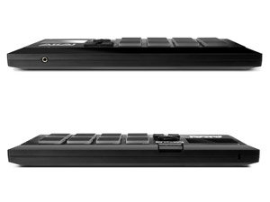 Akai Professional MPX8 Front and Back View