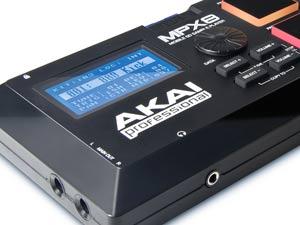 Akai Professional MPX8 Screen
