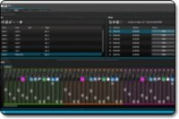 myDMX 2.0 editing screen.