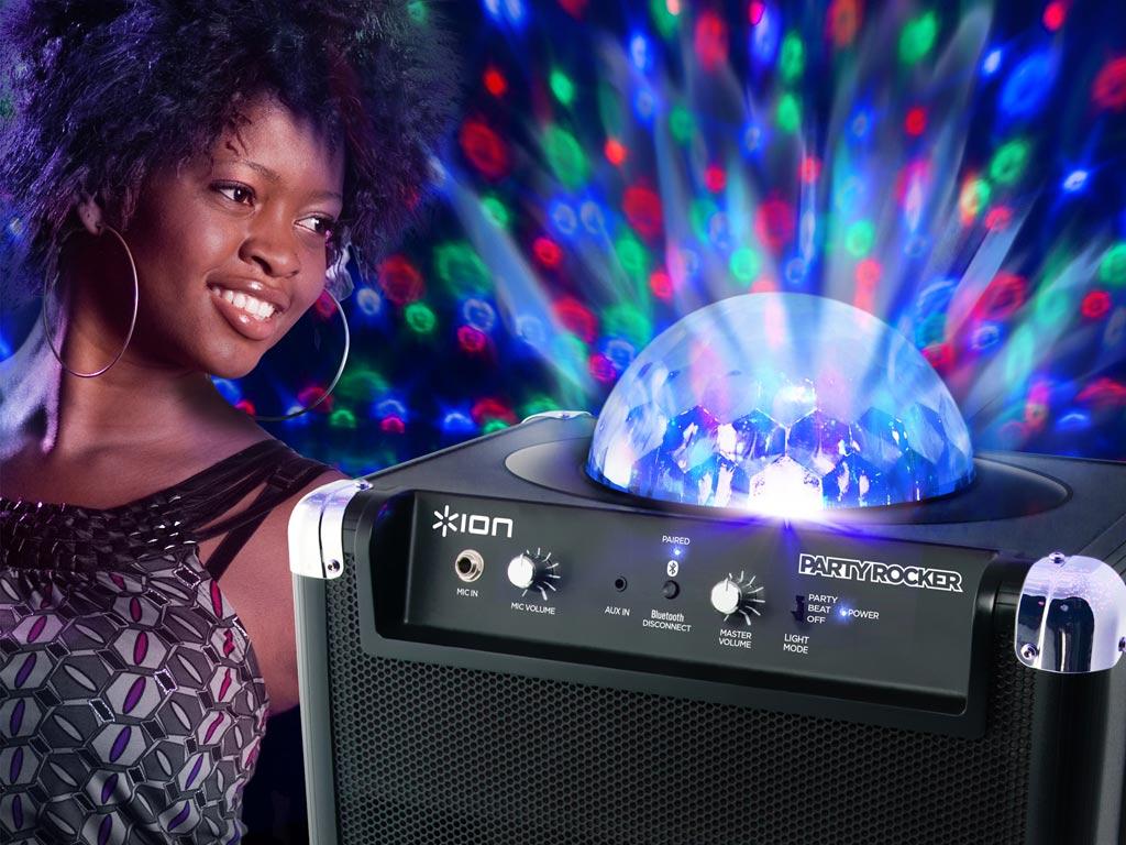 Amazon Com Ion Party Rocker Portable Bluetooth Speaker