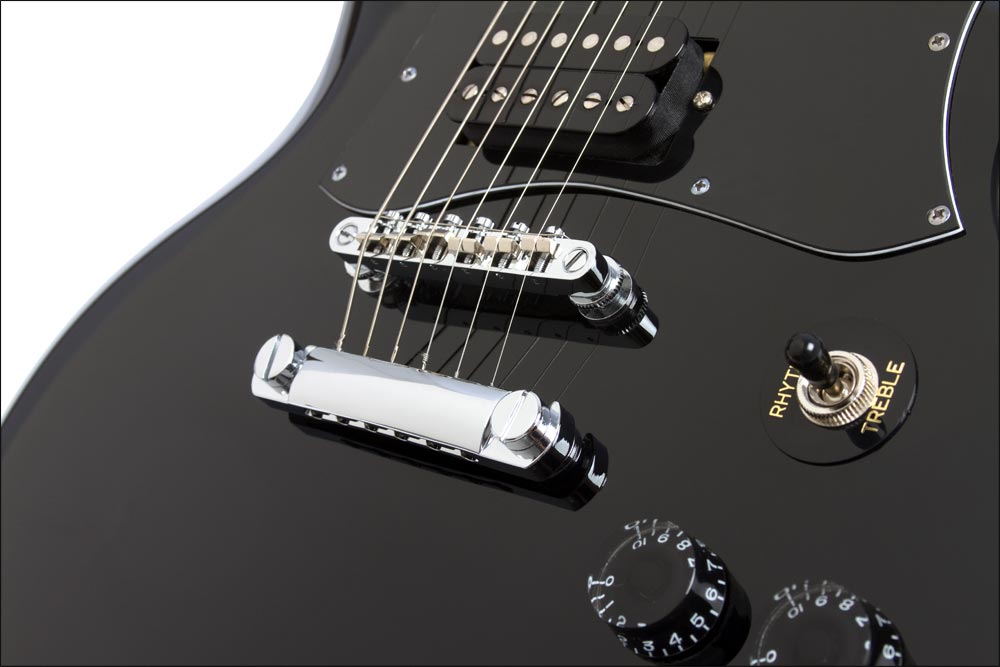epiphone g 310 electric guitar ebony musical instruments. Black Bedroom Furniture Sets. Home Design Ideas