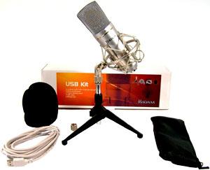 BADAAX 904-UM600-KIT Studio USB Cardioid Condenser Mic