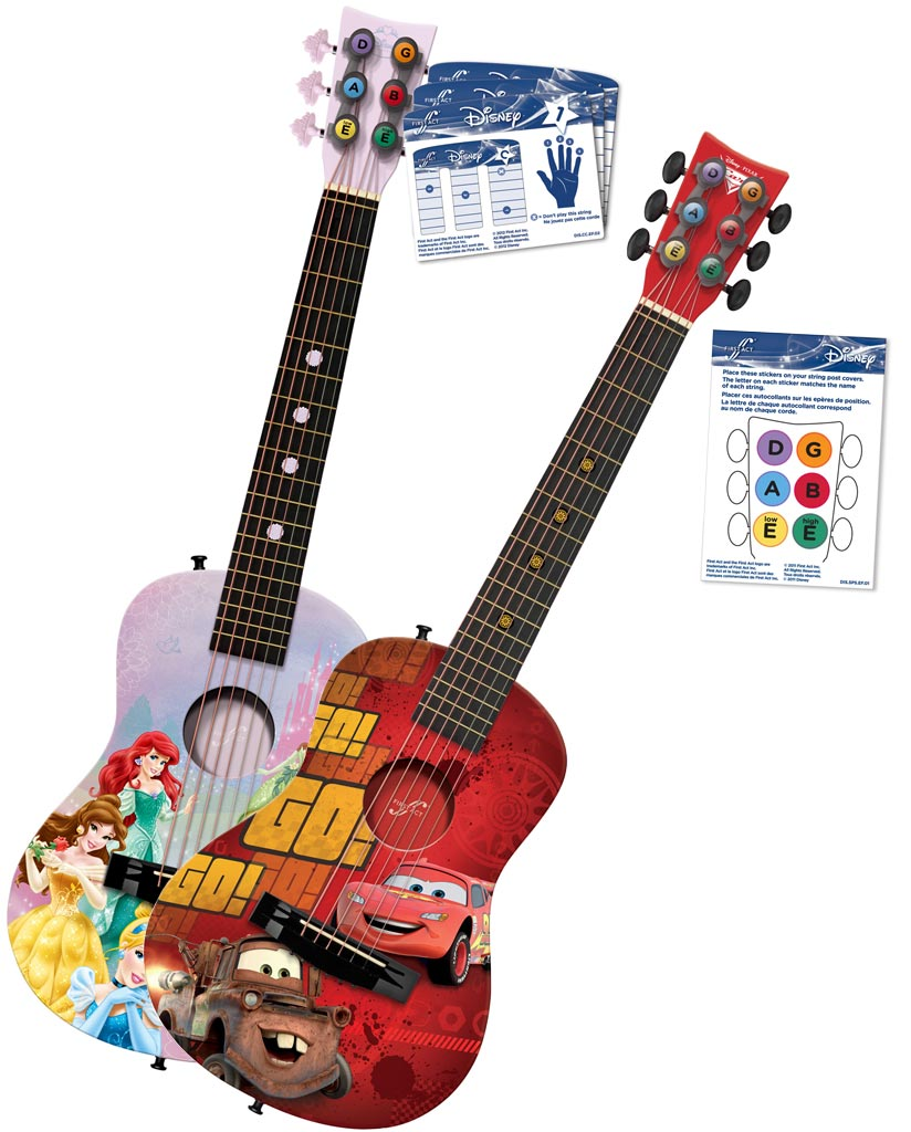 Amazon Disney Princess Acoustic Guitar By First Act