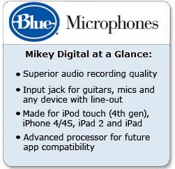 Mikey Digital microphone by Blue Microphones