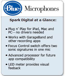 Spark Digital microphone from Blue Microphones