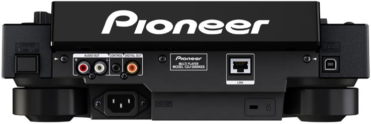 pioneer cdj 2000 nxs digital dj turntable musical instruments. Black Bedroom Furniture Sets. Home Design Ideas
