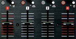 Numark NS6 4-Channel Digital DJ Controller
