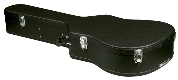 carrion c 1501 black hardshell dreadnaught acoustic guitar case musical instruments. Black Bedroom Furniture Sets. Home Design Ideas