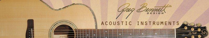 Acoustic guitars.