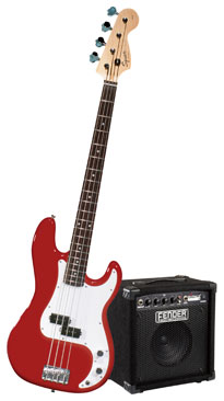 Squier® by Fender Stop Dreaming-Start Playing Set: Affinity P Bass w