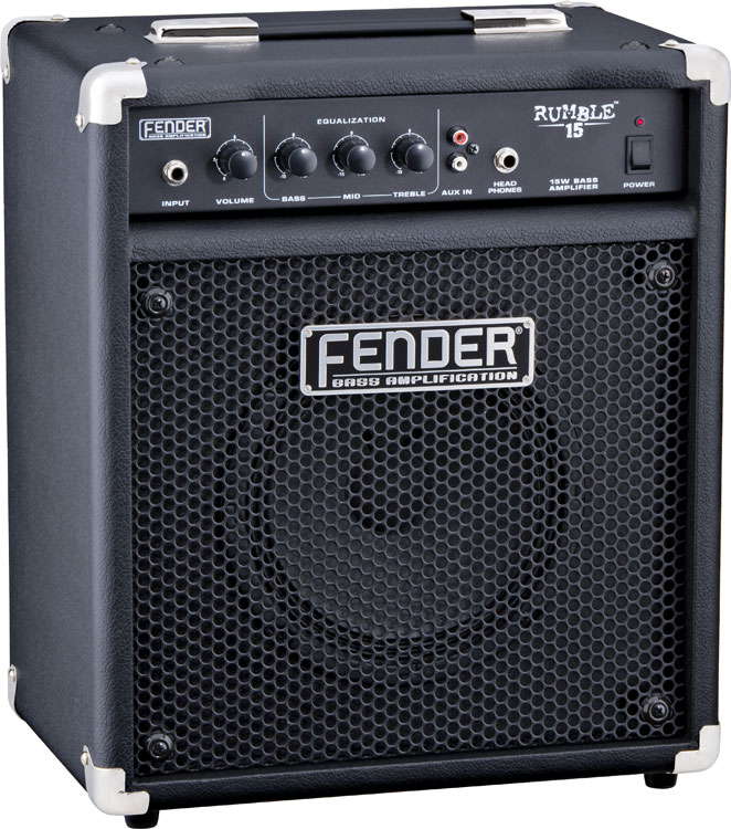 Amazon Com Fender Rumble 15 Bass Amplifier Musical