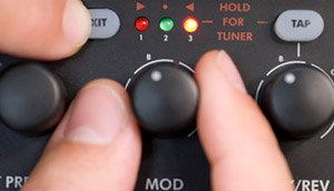 MUSTANG™ I Effect Level Controls