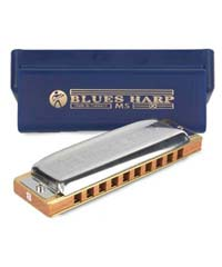 Hohner Blues Harp and Case
