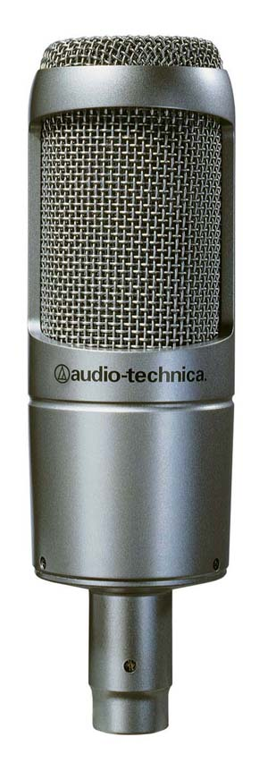 audio technica at3035 condenser microphone musical instruments. Black Bedroom Furniture Sets. Home Design Ideas