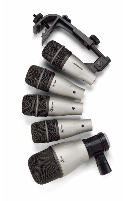 Drum Mic Setting : samson 5kit 5 piece drum microphone set musical instruments ~ Hamham.info Haus und Dekorationen