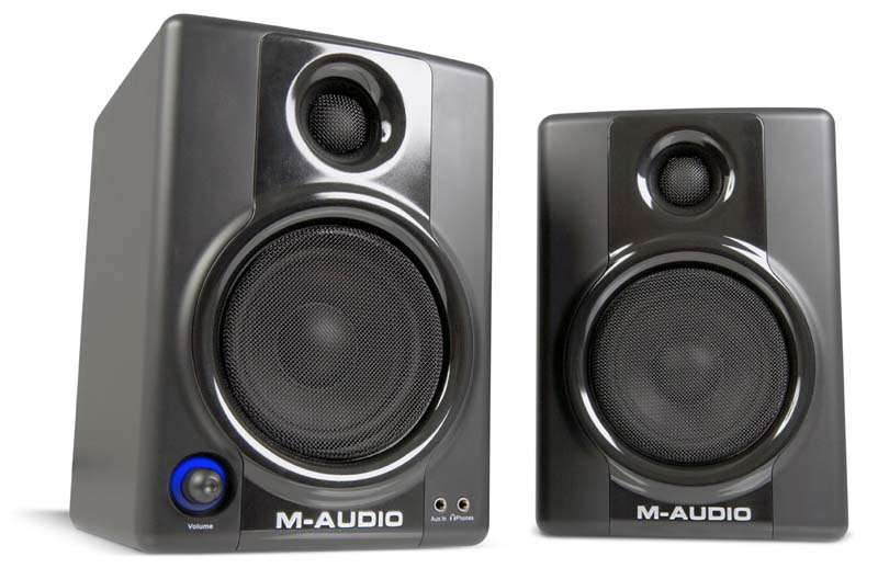 Amazon.com: M-Audio Studiophile AV 40 Powered Speakers