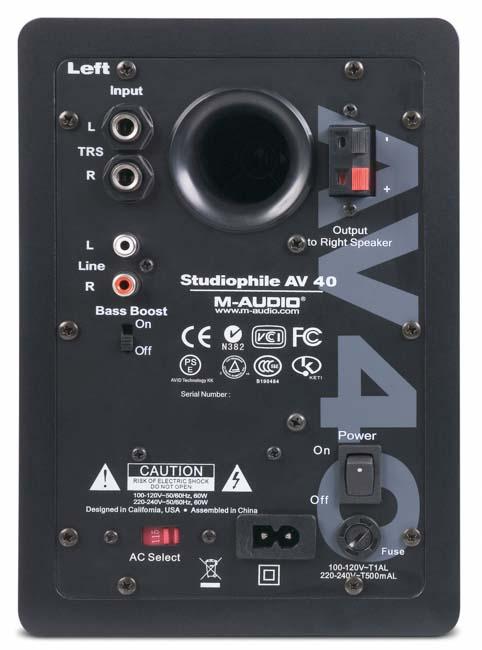 Amazon.com: M-Audio Studiophile AV 40 Powered Speakers
