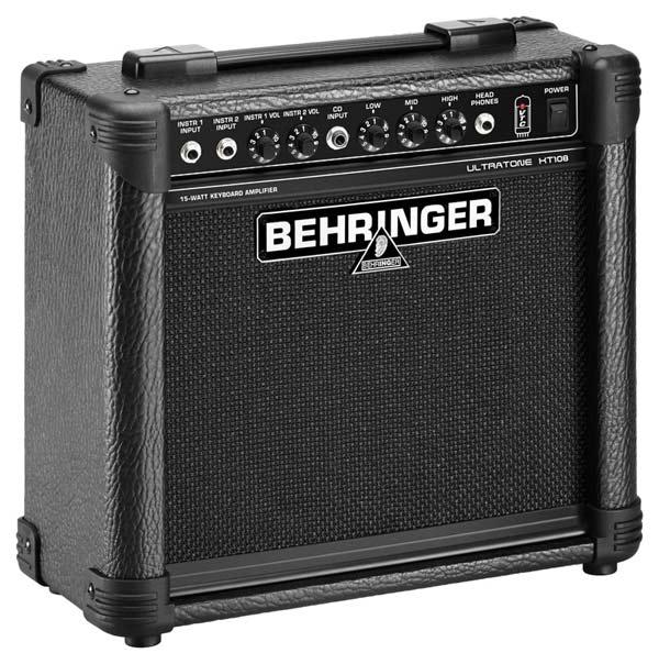 behringer ultratone kt108 ultra compact 15 watt keyboard amplifier musical instruments. Black Bedroom Furniture Sets. Home Design Ideas