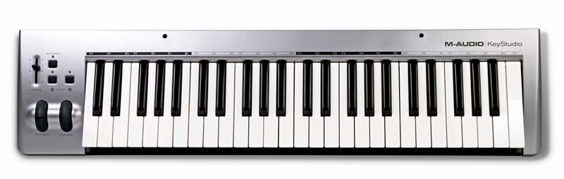 m audio keystudio 49 key usb midi controller keyboard musical instruments. Black Bedroom Furniture Sets. Home Design Ideas