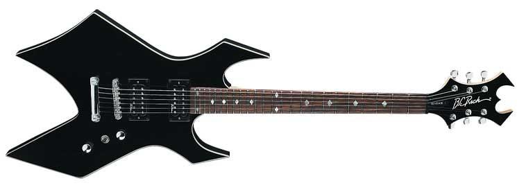 Columbia Británica Rich Warlock Revenge Guitarra Eléctrica Onyx Musical Instruments